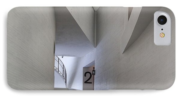 Contemporary Art Museum Interior IPhone Case by Margaret Brooks