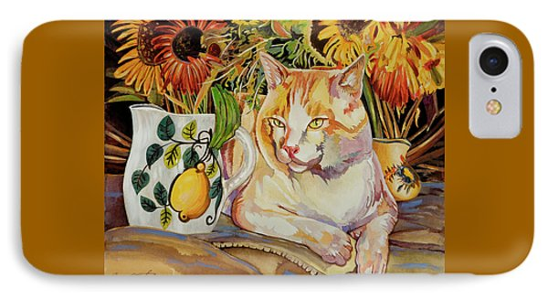 IPhone Case featuring the painting Contentment by Bob Coonts