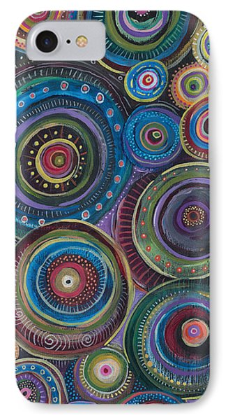 IPhone Case featuring the painting Continuum by Tanielle Childers