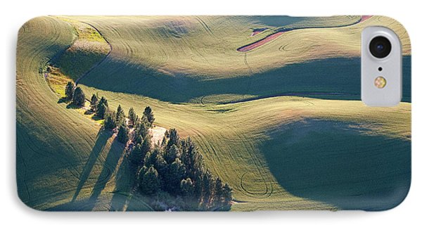Contours And Trees IPhone Case by Doug Davidson