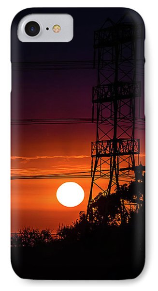 Contrast Of Two Powers IPhone Case by April Reppucci