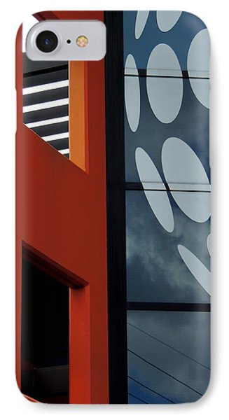 Contrasts In Abstract IPhone Case