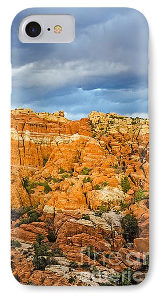 IPhone Case featuring the photograph Contrasts In Arches National Park by Sue Smith