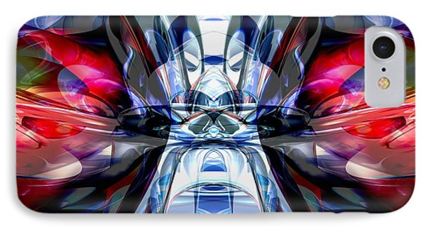Convergence Abstract IPhone Case by Alexander Butler