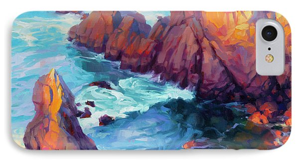 Pacific Ocean iPhone 7 Case - Convergence by Steve Henderson