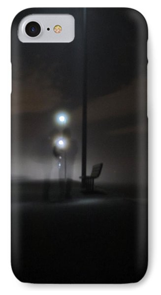 IPhone Case featuring the photograph Conversation In The Mist by Digital Art Cafe