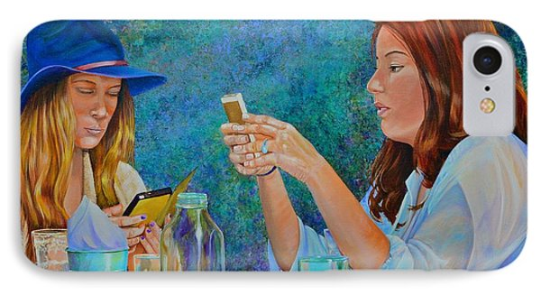 Conversations IPhone Case by AnnaJo Vahle