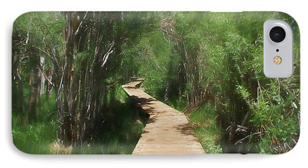 IPhone Case featuring the photograph Convict Lake Loop Trail by Donna Kennedy