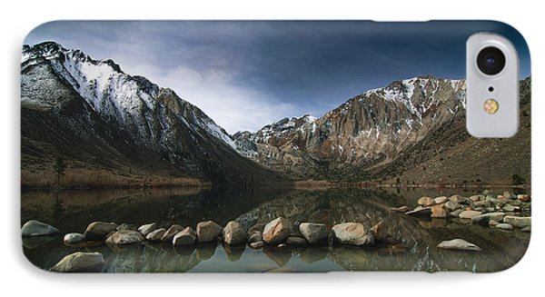 Convict Lake IPhone Case by Ralph Vazquez