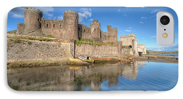 Conwy Castle IPhone Case by Adrian Evans