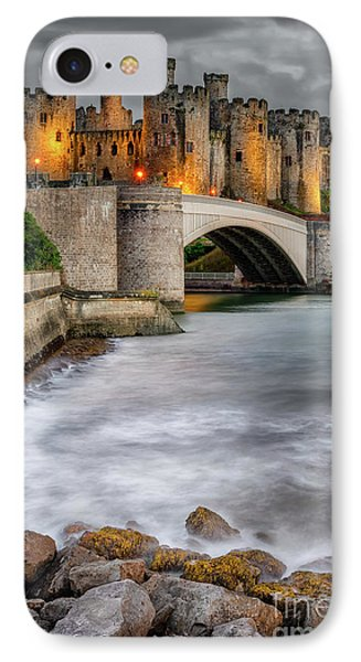 Conwy Castle At Night IPhone Case