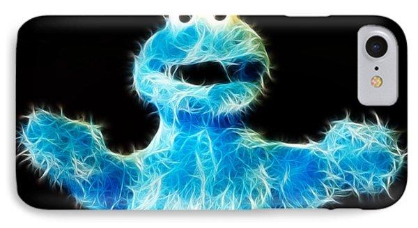 Cookie Monster - Sesame Street - Jim Henson IPhone Case by Lee Dos Santos