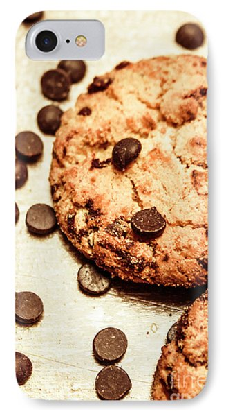 Cookies With Chocolare Chips IPhone Case by Jorgo Photography - Wall Art Gallery