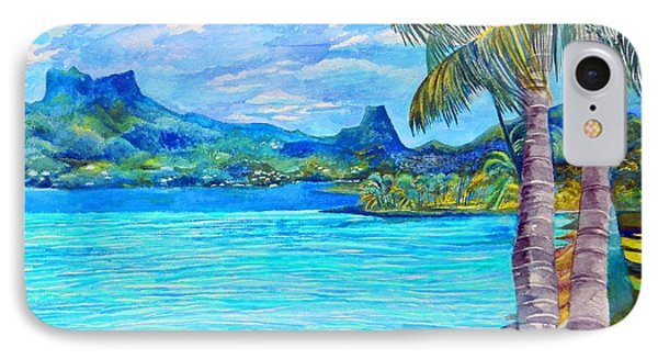 Cooks Bay Moorea IPhone Case