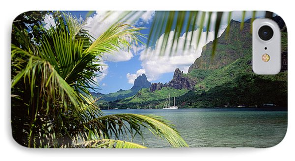 Cooks Bay With Sailboat Phone Case by Ron Dahlquist - Printscapes