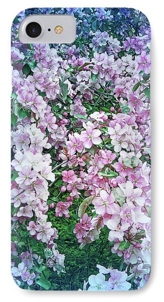 IPhone Case featuring the photograph Cool Blue Beautiful Blossoms by Aimee L Maher Photography and Art Visit ALMGallerydotcom