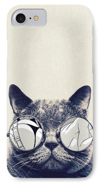 Cool Cat IPhone 7 Case by Vitor Costa