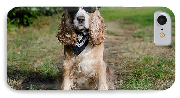 Cool Dog IPhone Case by Mats Silvan
