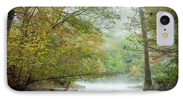 IPhone Case featuring the photograph Cool Morning by Iris Greenwell