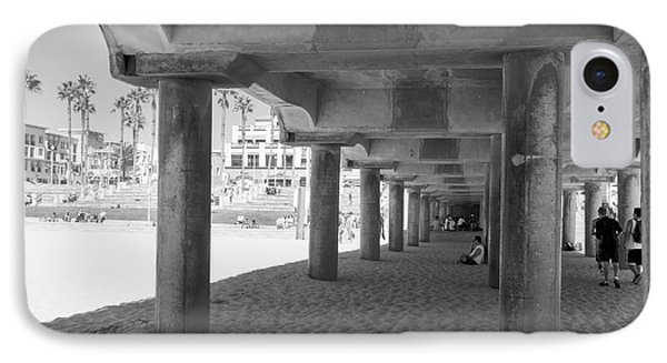 IPhone Case featuring the photograph Cool Off In The Shade Of The Pier by Ana V Ramirez