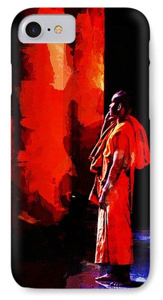 Cool Orange Monk IPhone Case