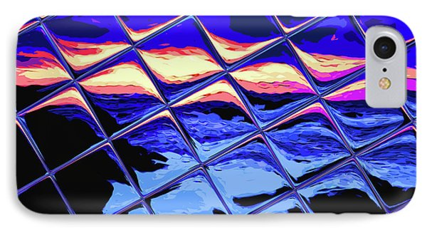 Cool Tile Reflection Phone Case by Stephen Younts