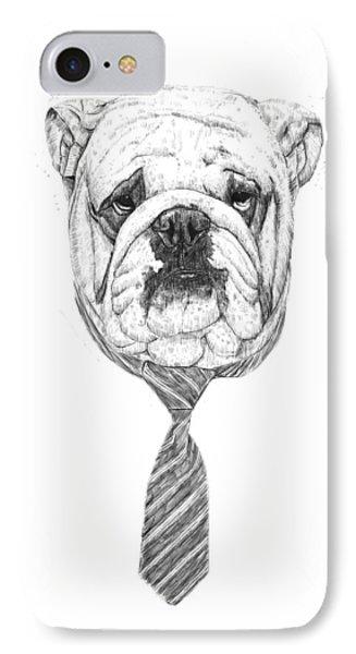 Cooldog Phone Case by Balazs Solti