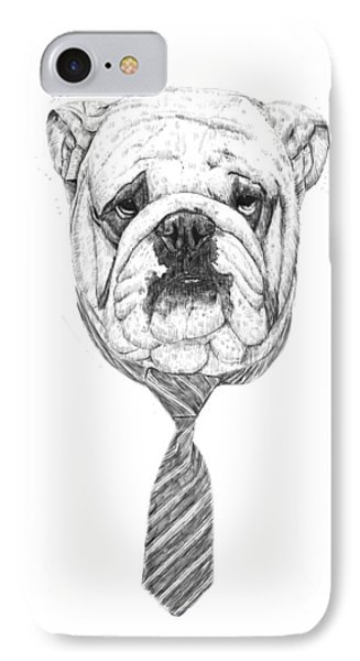 Cooldog IPhone Case by Balazs Solti