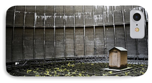 IPhone Case featuring the photograph Cooling Tower Petit Maison by Dirk Ercken