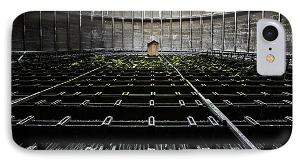 IPhone Case featuring the photograph Cooling Tower Water Distribution by Dirk Ercken