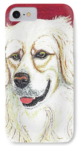 IPhone Case featuring the painting Cooper II by Ania M Milo