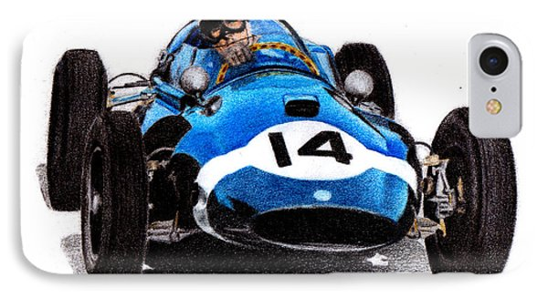 Cooper T51 Stirling Moss 1959 Phone Case by Ugo Capeto