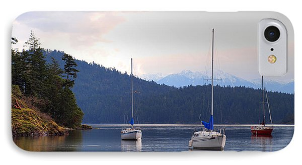 Cooper's Cove 1 IPhone Case by Randy Hall