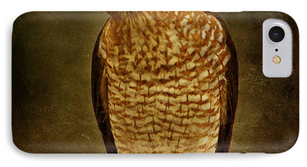 Coopers Hawk Phone Case by Sandy Keeton