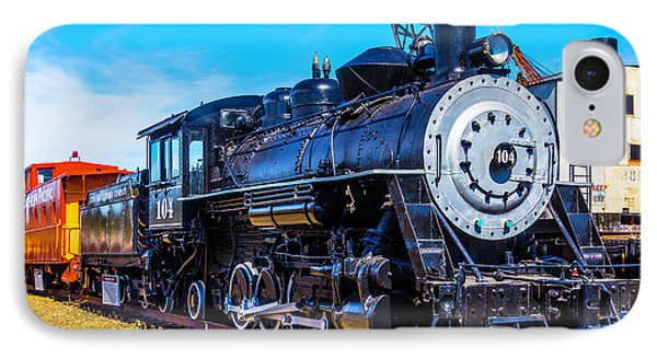 Coos Bay Lumber Company Train 104 IPhone Case by Garry Gay