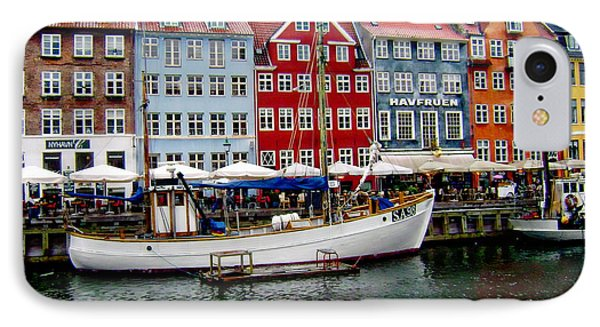 Copenhagen - Denmark IPhone Case by Anthony Dezenzio