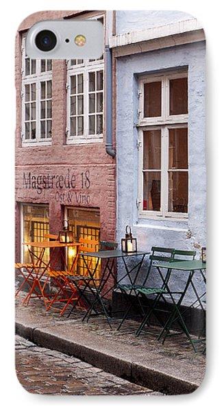 Copenhagen Patio Phone Case by Rae Tucker