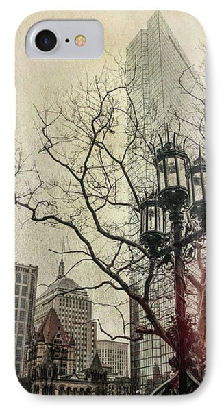 IPhone Case featuring the photograph Copley Square - Boston by Joann Vitali