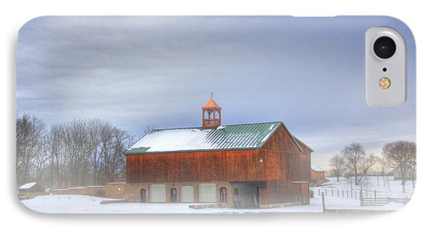 IPhone Case featuring the digital art Copper Cupola by Sharon Batdorf