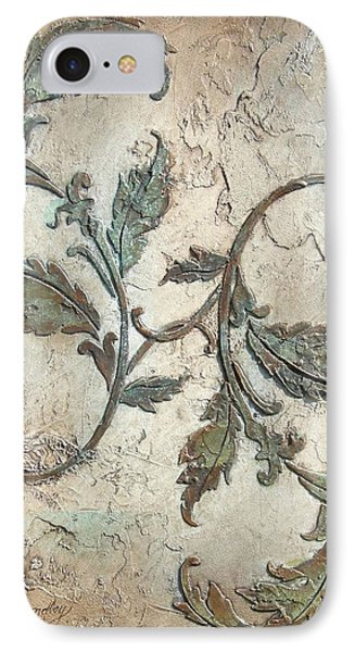 Copper Leaves IPhone Case