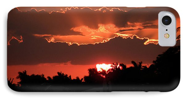 Copper Sunset IPhone Case by Rosalie Scanlon
