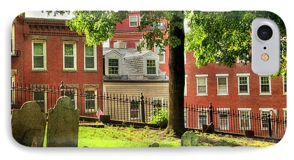 Copp's Hill Burial Ground - North End - Boston IPhone Case by Joann Vitali