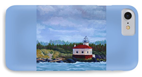 IPhone Case featuring the painting Coquille Light by Nancy Jolley
