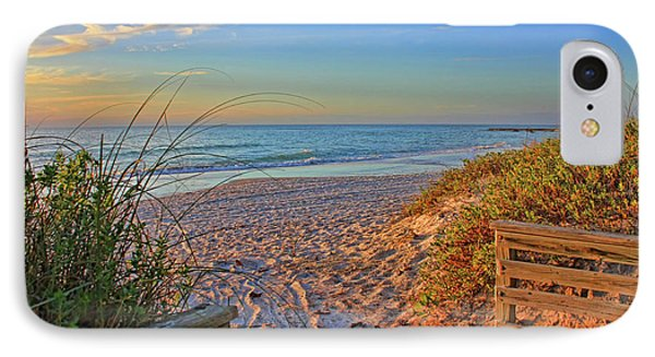 Coquina Beach By H H Photography Of Florida  IPhone Case
