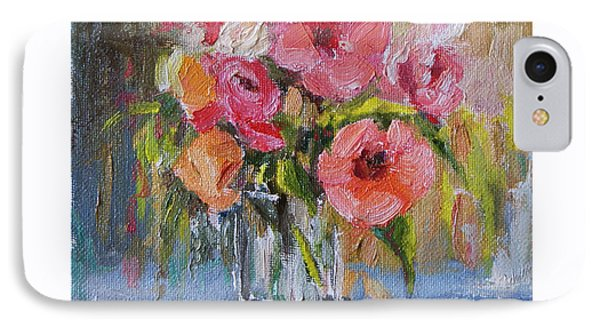 IPhone Case featuring the painting Coral Bouquet by Jennifer Beaudet