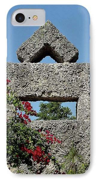 Coral Castle For Love IPhone Case by Shirley Heyn