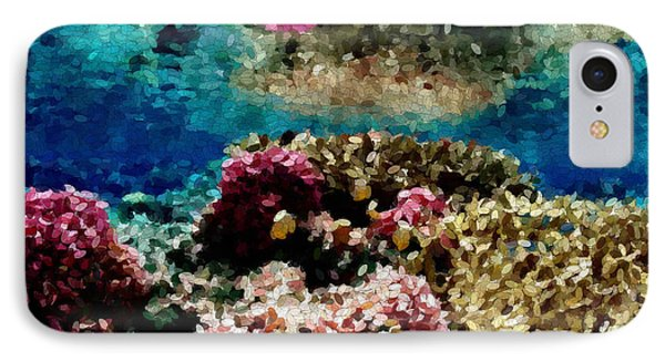 Coral Reef IPhone Case by Carol Crisafi