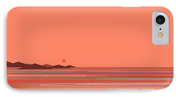 Coral Sea IPhone Case by Val Arie