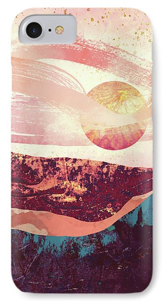 Landscapes iPhone 7 Case - Coral Sky by Katherine Smit