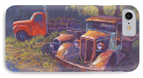 Truck iPhone 7 Case - Corbitt And Friends by Cody DeLong